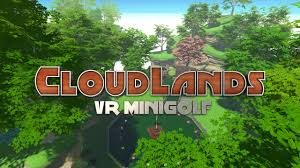 Cloudlands Mini Golf VR Game